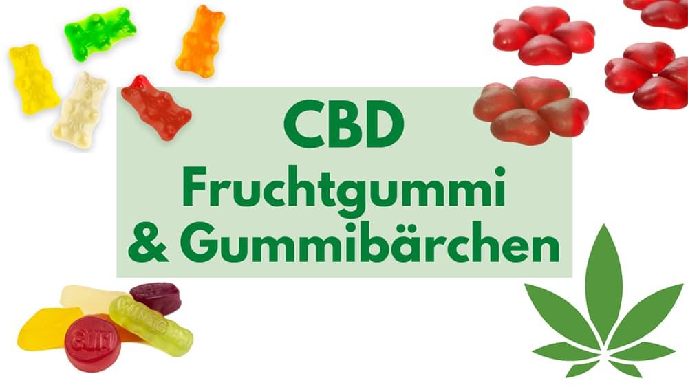 CBD Fruchtgummi Gummibärchen