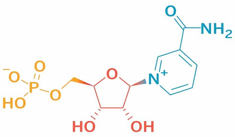 Nicotinamidmononucleotid NMN Strukturformel