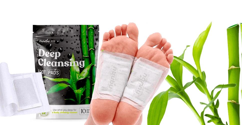deep cleansing foot pads